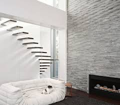 modern electric fireplace basement transitional with built in