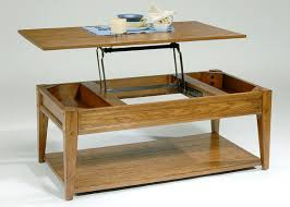 coffee tables essential home lift top storage ottoman solid wood
