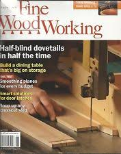 Woodworking Magazine Canada by Fine Woodworking Magazine Ebay