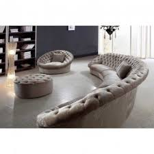 circle sectional sofa foter
