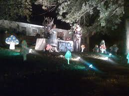 halloween decorated houses best neighborhoods and streets for halloween decorations tampa 058