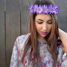 hippie flower headbands shop hippie flower headband on wanelo