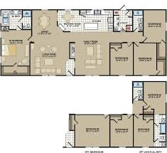 4 Bedroom Single Wide Floor Plans 89 Best Manufactured And Mobile Homes Images On Pinterest