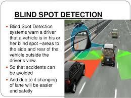 Blind Spot Detection System Installation Blind Spot Ppt