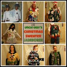 ugly sweaters coolest family on block