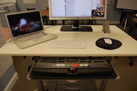 desk with keyboard tray ikea kellyrest under desk keyboard tray with oval mouse platform black