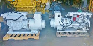 used northern lights generator for sale northern lights m964 marine diesel generator set 30 kw south bay