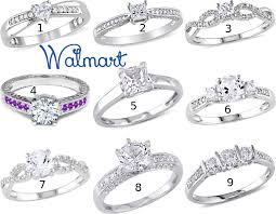 walmart cheap engagement rings cheap wedding rings at walmart engagement orbbs fashion sets