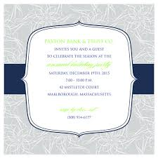 Examples Of Invitation Cards Business Corporate Social Gathering Invitation Sample Emuroom
