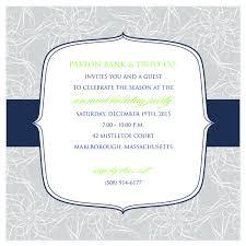 Formal Invitation Cards Business Corporate Social Gathering Invitation Sample Emuroom