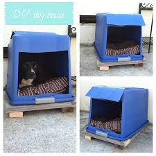 Upcycled Drawer Pet Bed Diy by Diy Dog House Plastic Bin With Lid Attached Cut A Hole In The