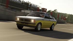 opel kadett oliver ralph lauren polo red car pack available today for forza
