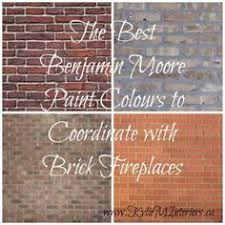 the best paint colours for walls to coordinate with a brick