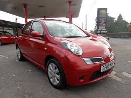 used nissan micra red for sale motors co uk