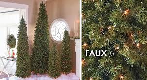 artificial christmas trees improvements catalog