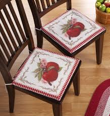 kitchen chair cushions country style kitchen chair pads country
