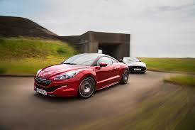 peugeot sport rcz new peugeot rcz r versus used jaguar xkr comparison autocar