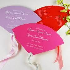 Paper Fan Wedding Programs 39 Best Paper Fans For Wedding Or Church Images On Pinterest Fan