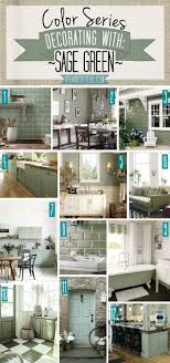 color series decorating with green shades of teal green