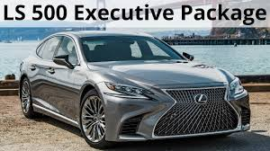 lexus ls 430 massage 2018 lexus ls 500 executive package longer wider and more