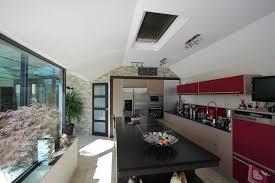 extension cuisine espace cuisine et vue jardin dj extension