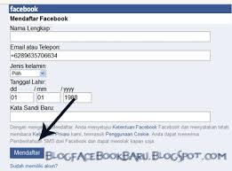 kesulitan membuat akun facebook buat akun facebook pertama kali di hp dengan nomer update