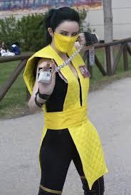 Scorpion Costume Mortal Kombat Scorpion By Homiebear On Deviantart