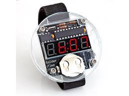 Diy Kit by Solder Time Diy Watch Kit Id 495 29 95 Adafruit Industries