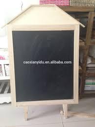 wooden frame hanging blackboard vintage blackboard cafe store menu