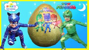 pj masks giant egg surprise toys for kids disney toys catboy gekko