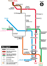 Chicago Loop Map by Cta Customer Alert Details