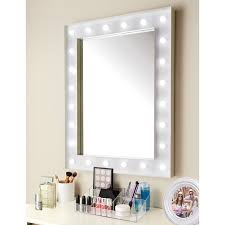 hollywood mirror with light bulbs 60 x 80cm led hollywood mirror battery powered in store 29 99