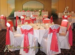 sashes for chairs chicago chair ties sashes for rental in salmon in the lamour satin