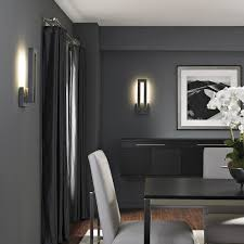 Led Wall Sconces Indoor Forq Indoor Outdoor Led Wall Sconce By Modern Forms By Lumens Dwell
