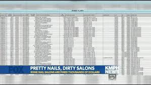 special investigation how clean are nail salons kmph