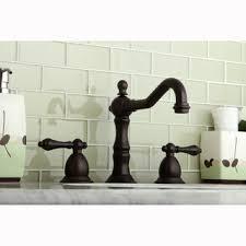 victorian bronze roman tub filler faucet deck set widespread