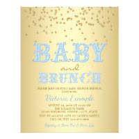 baby brunch invitations brunch baby shower invitations announcements zazzle
