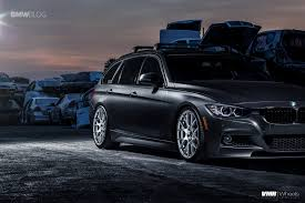 customized bmw 3 series bmw f31 sports wagon gets some visual upgrades and custom wheels