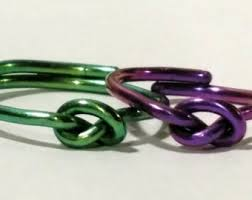hypoallergenic metals for rings anodized ring etsy
