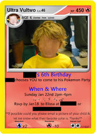 1st year baby birthday invitation cards awesome pokemon card invitations 11 on 1st year birthday