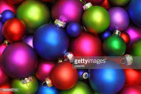 multicolored ornaments stock photo getty images