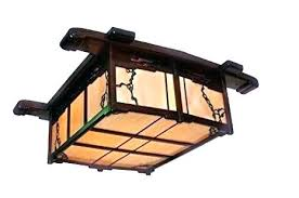 Craftsman Style Ceiling Light Mission Style Ceiling Fans Denniswoo Me