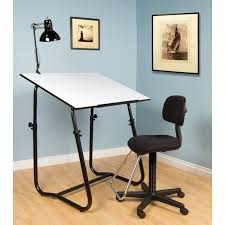Studio Designs Drafting Tables Boss Drafting Stool With Adjustable Arms And Footring Architect