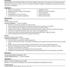 resume format exles for steel fabrication metal fabricator resume foodcity me