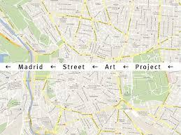 Studio City Map Madrid Street Art Project U2013 Is Creative Studio