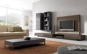 Extremely Cool White Floating Fireplace Cabinet With Open Shelves - Tv wall panels designs