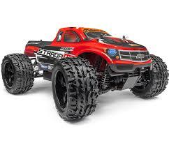 strada mt brushless rtr monster truck red mv12623