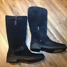 s thomsen ugg boots ugg s thomsen uggpure lined suede leather boot black