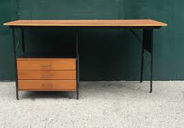 Herman Miller Adjustable Height Desk by Rare First Generation Herman Miller Eames Esu Desk For Sale At 1stdibs