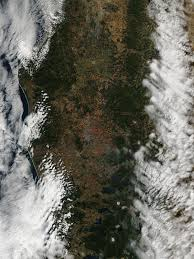 Wild Fires In Canada Bc by Chile Declares Forest Fires Alerts Nasa
